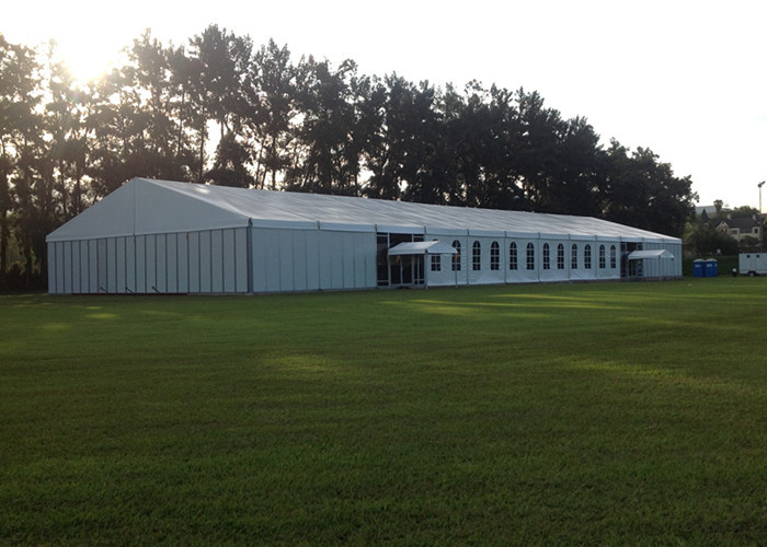 Deluxe Aluminum Structure Wedding / Church Party Tent , Peg And Pole Tent