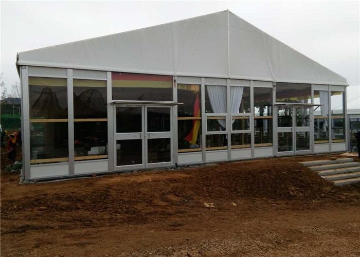 Sun Resistant Industrial Warehouse Tent , Temporary Industrial Storage Buildings