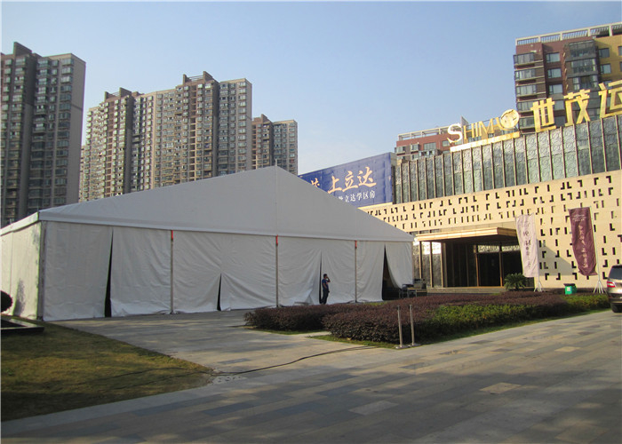 White Marquee 30x60 Party Tent Aluminum Frame For Warehouse / Exhibition